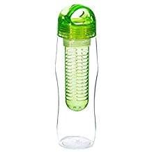 Yoko Design lahev s louhovacím sítkem 730 ml zelená