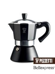 Moka konvice Pezzetti BellExpress 3 šálky černá