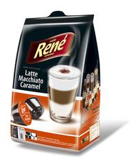 René Latte Macchiato karamel kapsle pro Dolce Gusto 16ks
