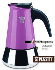 Moka konvice Pezzetti SteelExpress 10 šálků fialová