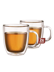 Maxxo DH919 extra tea dvoustěnné termo sklenice 2ks
