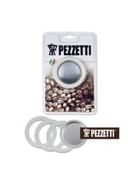 Sada těsnění Pezzetti pro hliníkové moka konvice na 1 šálek