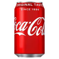 Coca Cola 330ml plech