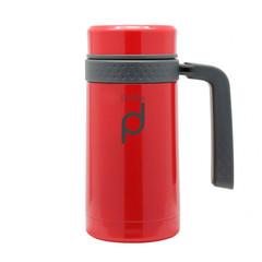 Pioneer DrinkPod termohrnek s rukojetí Červená, 450ml