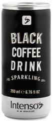 Intenso Black Perlivé Ice Coffee 200ml plech