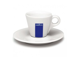 Lavazza Espresso šálek 60ml + talířek) 12 ks